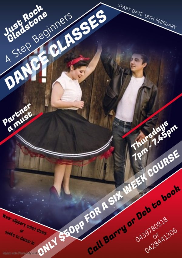 Just Rock - Rock n Roll Dancing Gladstone Beginners Course