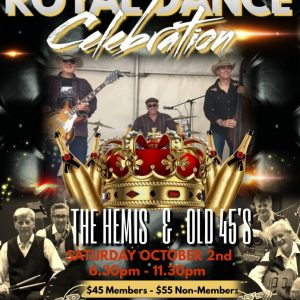 Royal dance flyer